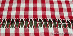 Drawn Thread on Gingham: Tutorial Hardanger Embroidery, Embroidery Stitches, Hand Embroidery, Embroidery Designs, Drawn Thread, Thread Work, Chicken Scratch Embroidery, Kinds Of Fabric, Bunny Crafts