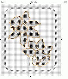 daffodil free filet crochet pattern - Google Search