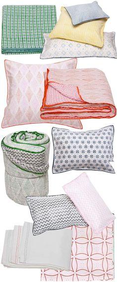 Mia + Finn bedding - LOVE this!  Unfortunately, a single flat sheet is $150 :(