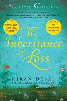 Popular book club books to read with your book club, including The Inheritance of Loss by Kiran Desai.
