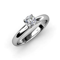 Beauty and simplicity stands out with Semi Mount Solitaire Ring which sparkles from every possible angle.