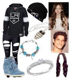 """""""Untitled #471"""" by teenwolf12336 ❤ liked on Polyvore featuring WithChic, Reebok, Ash, Keds, Miadora and La Preciosa"""