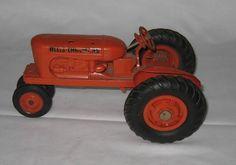 Vintage Allis Chalmers Orange Tractor