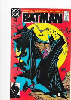 Batman #423 DC Comics First Print Todd McFarlane Cover 1st Print VF