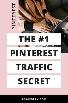Do you want to know how to increase your Pinterest traffic? There's 1 BIG thing that you need to be doing in order to boost your Pinterest traffic. Learn what it is in this blog post -->