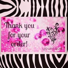 Younique Thank You for Ordering picture