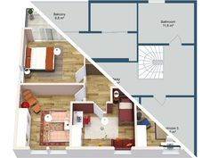 Facebook/G+/Pinterest/Linkedin 2D or 3D? Why not both! 2D Floor Plans give a clear overview of the property layout including room sizes. While 3D Floor Plans can show how the property can be furnished. Each is really helpful for potential buyers and renters. With RoomSketcher you can both quickly and easily either yourself or through our floor plans service. See how: https://www.roomsketcher.com/real-estate/  #realestate #floorplans #floorplan #2dfloorplans #3Dfloorplans #RealEstateMarketing