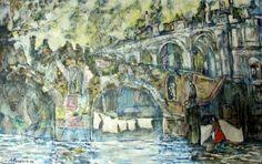 Old bridges   Alex Solodov Contemporary Art