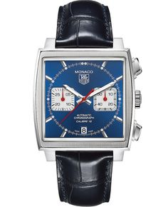 Discover a large selection of TAG Heuer Monaco Calibre 12 watches on - the worldwide marketplace for luxury watches. Compare all TAG Heuer Monaco Calibre 12 watches ✓ Buy safely & securely ✓ Gents Watches, Cool Watches, Watches For Men, Tag Watches, Acm Logo, Monaco Tag Heuer, Herren Chronograph, Bracelet Cuir, Steve Mcqueen