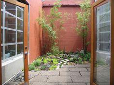 tiny patio garden