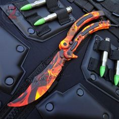 An update released on December 2018 made the experience fully unengaged to play from there onwards. Users that had purchased the adventure before h. ,Fantastic Pics cs go knife knives Tips Pretty Knives, Cool Knives, Knives And Swords, Airsoft Guns, Weapons Guns, Knife Logo, Armadura Cosplay, Armas Ninja, Butterfly Knife