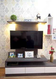 HomeLane: Full Home Interior Design Solutions, Get Instant Quotes. Beautiful Houses Interior, Beautiful Interiors, Beautiful Homes, Entertainment Units, Free Interior Design, Living Room Designs, Home Goods, House Design, Home Decor