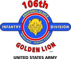 "106th Infantry Division "" Golden Lion"" United States Army Shirt"
