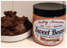 Items similar to Natural Arabaica Coffee Coconut Oil Scrub - 9 oz w/ organic ingredients - Improved Skin - Cellulite Treatment - Spider Veins - Smooth Skin on Etsy Coconut Oil Scrub, Coconut Oil Cellulite, Cellulite Scrub, Cellulite Remedies, Coffee Face Scrub, Coffee Soap, Stretch Marks Coconut Oil, Lymph Massage, Alcohol Free Toner