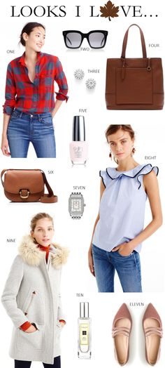 best fall styles from the J.Crew October Style Guide