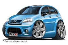 Citroen C3 - Duck Design Cartoon Cars