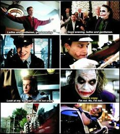 Jerome x Dark Knight joker #gotham #fox tumblr | I totally caught all of these comparisons!