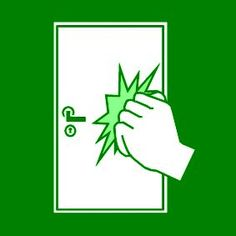 Pictogram: knock green