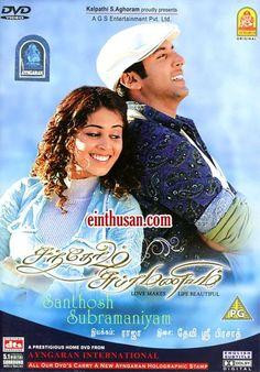 Santosh Subramaniam Tamil Movie Online - Jayam Ravi, Genelia D'Souza, Prakash Raj and Vijayakumar. Directed by M. Raja. Music by Devi Sri Prasad. 2008 [U] ENGLISH SUBTITLE