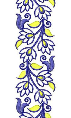 Polyester Embroidery Design 16515