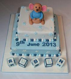 Lovely boy's birthday/Christening cake