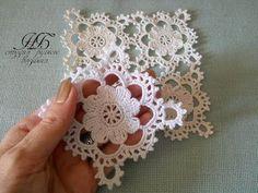 Cuadrado o muestra para colchas tejido a crochet paso a paso