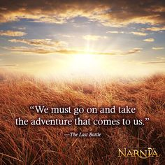 Take the adventure.