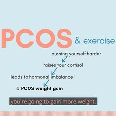 """This may be breaking news...but, you do NOT have to """"do more to lose more"""" .Finding ways to help improve weight loss and heal our metabolic dysfunction can be achieved by taking it one step at a time through diet & lifestyle changes! Pcos Weight Gain, Pcos Exercise, Insulin Resistance, Weight Loss Results, Adrenal Fatigue, Hormone Imbalance, Cortisol, Lifestyle Changes, Going To The Gym"""