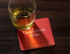 Don't think alone. Advertising Agency: BBDO, New York, USA Chief Creative Officer: David Lubars Creative Director / Art Director: Jean Robaire C