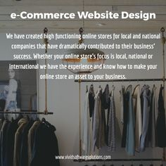 Do you need an E-Commerce website to sell your products and services online?  Contact us! https://www.vividsoftwaresolutions.com/contact-us/ #eCommerceWebDesign #WebDesignCompanySanDiego