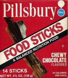 Pillsbury Food Sticks by grickily, via Flickr
