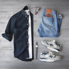 Capsule wardrobe approved outfit grid for men 29 - Fashionetter