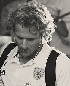 Diego Forlan is form uruguay, famous soccer player that won the champion ship 2 times in a row