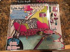 Details about Fashion Angels Monster High Design Portfolio Angels