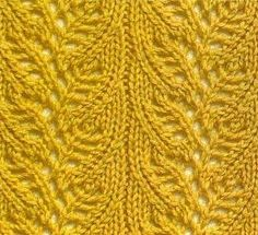 Beautiful lace pattern.