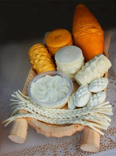 Oscypek: A Polish Smoked Cheese Oscypek is a very old sheep's cheese produced by shepherds living in the Tatra mountains.