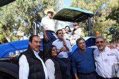 El gobierno de Silvano Aureoles triplica la entrega de equipos al campo, destaca el titular de la dependencia estatal, Francisco Huergo Maurin – Morelia, Michoacán, 08 de enero de 2017.- ...