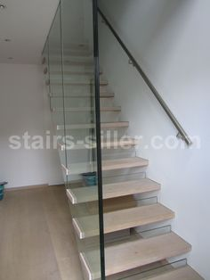 floating staircase for residential project in London, UK, www.stairs-siller.com Open Stairs, Glass Stairs, Cantilever Stairs, Floating Staircase, Glass Balustrade, Stairway To Heaven, Open Plan, Stairways, Modern Architecture