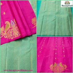 The border less #Kanjivaram silk saree with beautiful putta and parrot motifs on the body, Here is an amazing #Kanjivaram borderless #silk sarees in #Hayagrivassilkhouse. #Silksarees #weddingsilks #Traditionalsilk #Diwalispecial Visit us: https://www.hayagrivassilkhouse.com/…/2014-hayagrivas-kanji… Call us: 91 9840582892
