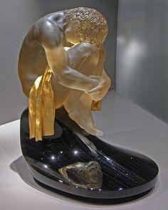Gem carving of young man - Toronto 2009 Royal Ontario Museum by Bruce Aleksander & Dennis Milam, via Flickr