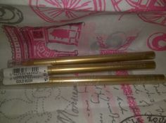 VICTORIAS SECRET BEAUTY RUSH EYELINER PENCIL GOLD RUSH NEW seale (LOT OF 12)