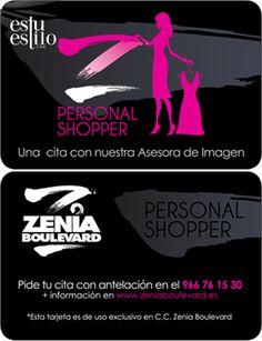 """Es tu estilo"" personal shopper oficial del Centro Comercial Zenia Boulevard | Zenia Boulevard | Alicante | Spain"