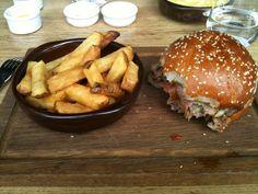 Hamburger at Barbecoa