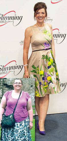 Refused life insurance because of her weight Lucy Rintoul is now 161 pounds lighter and ready to take on the world...