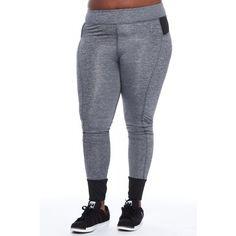 0fd543130ff Coco Limon Stripe Workout Leggings L737X. Plus Size ActivewearPlus ...