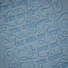Letterpress-Details am Donnerstag:  Ein Zitat von Judy Garland gepresst auf 'Gmund Cotton Gentlemen Blue'. Gestaltet von Laura Serra.  Die Karte ist übrigens auch in unserem Musterpack zu finden und gegen eine kleine Schutzgebühr im  Letterjazz-Shop erhältlich. #letterjazz #lauraserra #gmund #letterpress #letterpresslove #handcrafted #print #design #typographie #illustration #grafic #essen #ruhrpott #mitschmackesgedruckt #handmade #judygarland