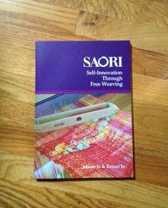 The new revised  Saori english  weaving book by saorisantacruz, $59.00