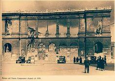 Teatro Campo amor . Oviedo. Asturias. Año 1936.