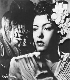Billie Holiday. Her songs and more than a few botles of beaujolais got me through my late twenties. Thank you Billie.