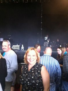 Yolanda Vanveen at the Bad Company concert